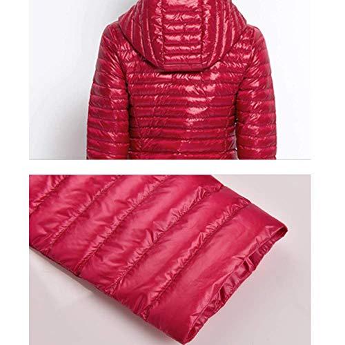 veste mince avec manteau Vieil veste Roser femme coréenne légère sectionnel long d'hiver version 8pRwZwB