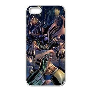 iPhone 5 5s Cell Phone Case White Superhero Captain America, Spider Man, Iron Man, Wolverine, ant man, Green Arrow, Batman, Joker Logo 83 JNR2188577