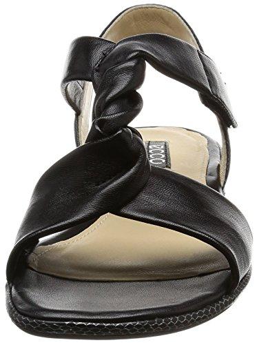 3 Schwarz Bouillon Mujer 0 Sandalias Ecco Sandal 1001black Ecco wRxt4Afq7