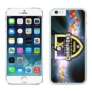 NFL Pittsburgh Steelers iPhone 6 Cases 28 White 4.7 Inches NFLIphone6Cases14150