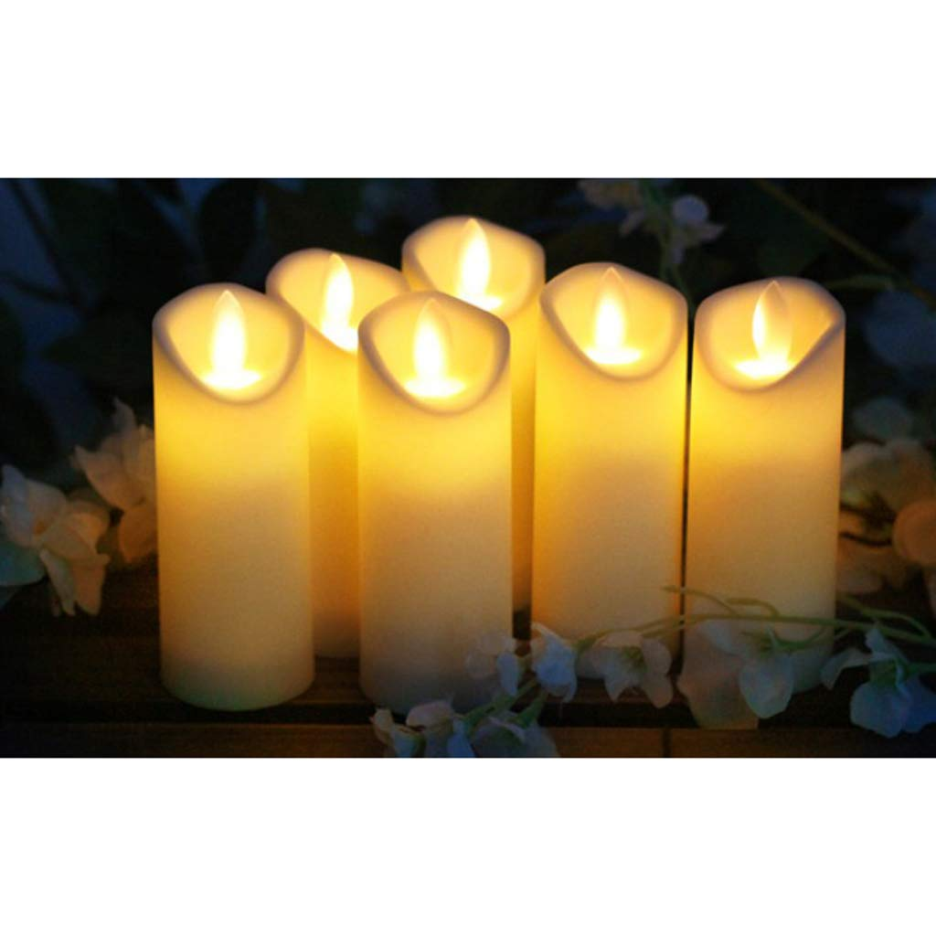 Flameer Electric LED Candles Flickering Flameless Light Wedding Party Decor
