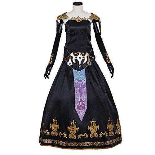 [CosplayDiy Women's Dress for Legend of Zelda Twilight Princess Zelda Cosplay XS] (Princess Zelda Cosplay Costume)