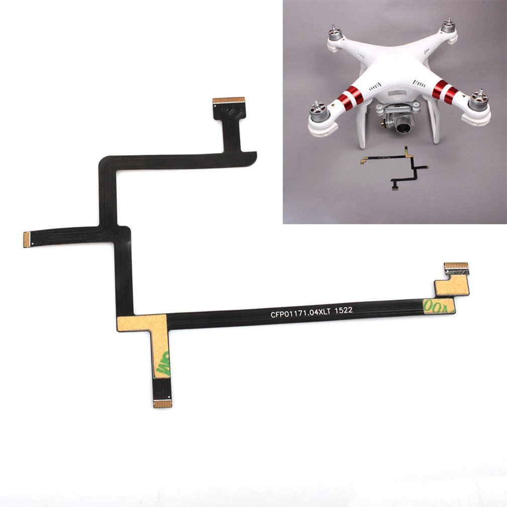 JYLTK New Replacement Gimbal Camera Flexible Flat Ribbon Cable for DJI Phantom 3 Standard Part #85 (Sta)