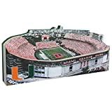 NCAA Jumbo Stadium and Display Case NCAA Team: Miami Hurricanes/Orange Bowl Stadium