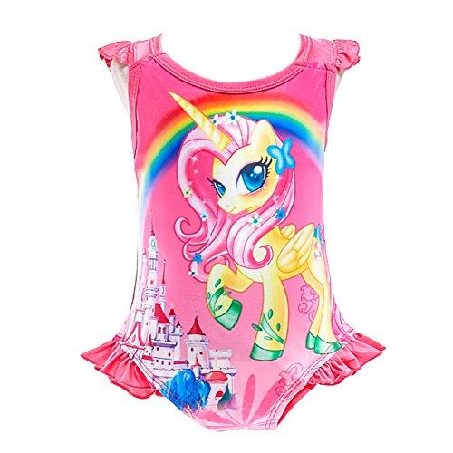de8bb6a998322 Dressy Daisy Girls Unicorn One Piece Bathing Suit Swimsuit Swimwear ...