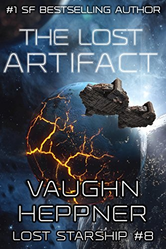 The Lost Artifact (Lost Starship Series Book 8) cover