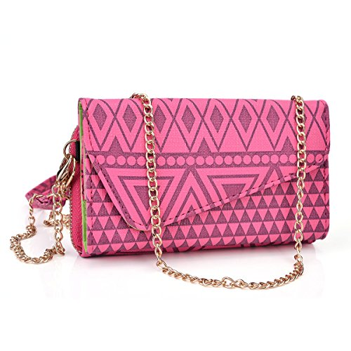 NuVur Universal Geometeric Tribal Print Wallet Clutch for sale  Delivered anywhere in USA