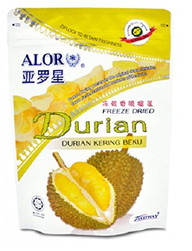MUST BUY ! 10 Pack DXN Alor Freeze Dried DURIAN Preserved With Original Characteristics ( 50 Per Pack ) by DXN