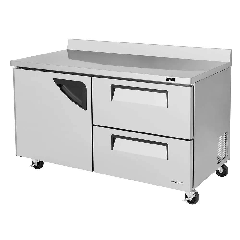 Turbo Air - TWR-60SD-D2-N - 60 in 2-Drawer Worktop Refrigerator