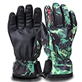 [Upgrade Version]Ski gloves, Hicool Waterproof Thermal Women Man Ski Gloves Snowboard Snowmobile Motorcycle Cycling Outdoor Sports Gloves