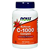 NOW Vitamin C-1000 Complex, 90 Buffered Tablets