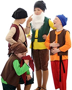 "World Book Day-Fairytale-Snow White /""SLEEPY/"" DWARF Fancy Dress Costume All Ages"