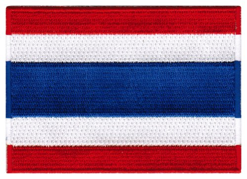 thailand flag patch thai iron