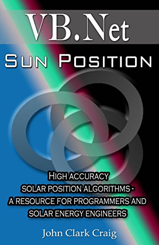 Sun Position - High accuracy solar position algorithms - a resource for programmers and solar energy engineers (VB.Net Programming by Example Book 2)