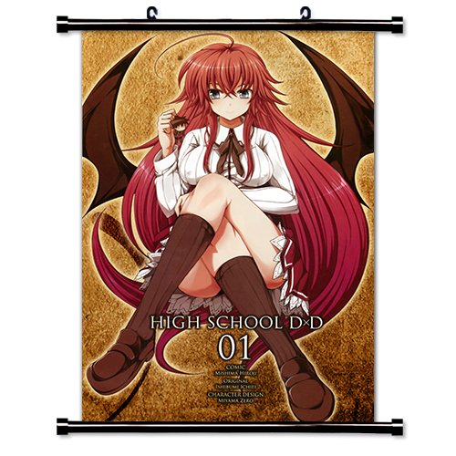 High School DxD Anime Fabric Wall Scroll Poster  Inches -Hig