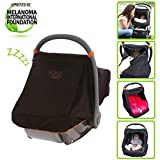 SnoozeShade Car Seat Canopy | Universal & Unisex Baby Car Seat Cover | Blocks 99% of UV with 360 Degree Protection