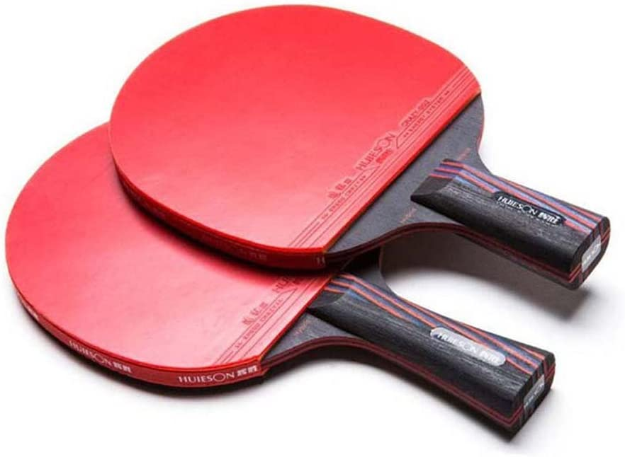 HUIESON de profesión Tipo de Ataque Raqueta de Tenis de Mesa Rey de Carbono Entrenamiento o Competencia Tabla Bate de Tenis Ping Pong Paddle