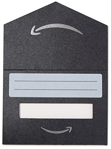 Large Product Image of Amazon.com Gift Card in a Mini Envelope (Black)