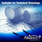 "Alliance CAD Paper Rolls, 24"" x 150', 96"