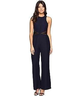 bcb152468626 Amazon.com  Adelyn Rae Women s Jennifer Woven Jumpsuit  Clothing
