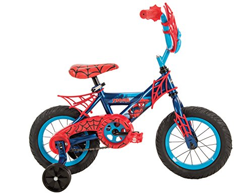 12'' Marvel Spider-Man Boys' Bike by Huffy Blue/Red by Huffy (Image #5)