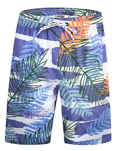 - APTRO Men's Quick Dry Swim Trunks with Lining Beach Swimwear HW038 XXXL