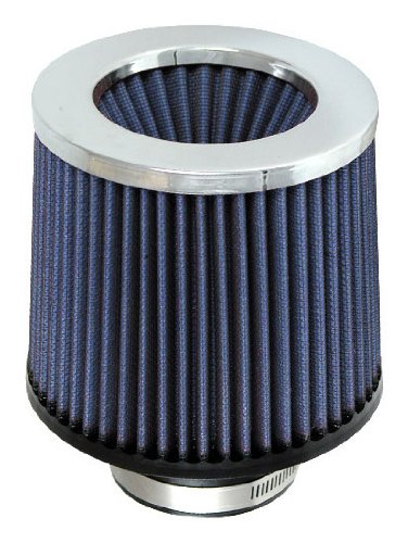 (S&B 8ply Power Stack Air Filter - Polish Metal Cap, 5.00