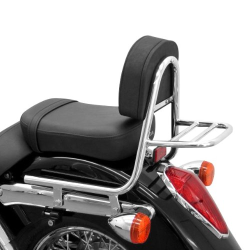 Sissy Bar + rear rack Honda Shadow VT 750 04-13 Fehling