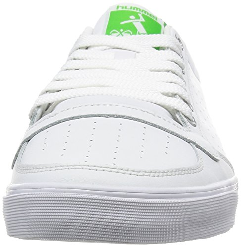 Mixte Adulte Slimmer Baskets 9208 White Hummel Ace Green Basses Stadil Wei q7gwS1XY