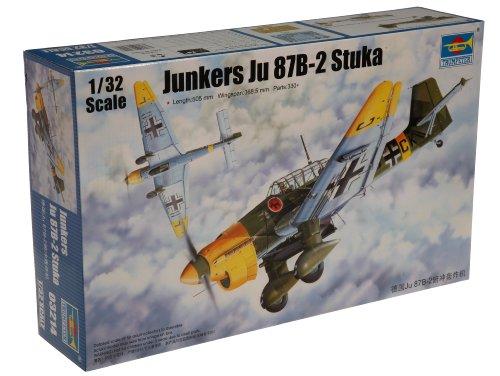 Trumpeter 1/32 Junkers Ju87B2 Stuka Ground Attack Aircraft