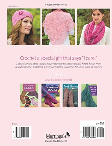Crochet Pink  26 Patterns to Crochet for Comfort, Gratitude, and Charity