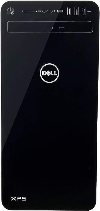 Dell XPS 8930 Tower Desktop - 9th Gen Intel 8-Core i7-9700K Processor up to 4.90 GHz, 32GB RAM, 256GB SSD + 1TB Hard Drive, NVIDIA GeForce GTX 1050Ti 4GB, DVD Burner, Windows 10 Pro, Black (Renewed)