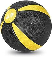 JBM Medicine Ball (2lbs 4lbs) Slam Ball Medicine Ball Workouts/Exercise Strength Training Cardio Exercise Plyo