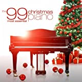 The 99 Most Essential Christmas Piano Album Cover