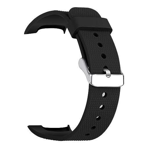 para Samsung Gear Fit 2 / Fit 2 Pro Reloj Accesorios Suave Silicona Pulsera Deporte Pulsera de Correas de Repuesto Correa de Repuesto de Silicona Suave para ...