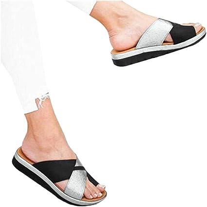 Women Summer Beach Cute Dog Puppy Flat Sliders Sandals Shoes Flip Flops Slippers