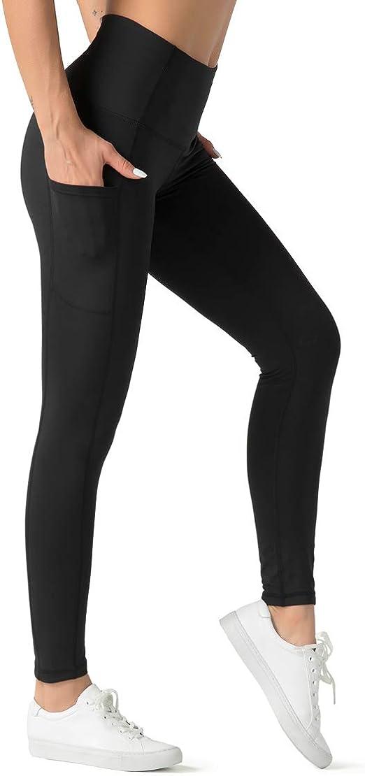 Ladies High Waist Leggings Tummy Control Stretch Sports Long Pants Fitness Gym