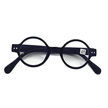 2841218472 Meijunter Vintage Round Reading Glasses Women - Fashion Style Design Spring  Eyeglasses Frame Retro Classic Men