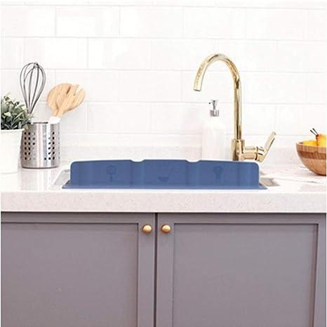 Amazon Com Mia Home Silicon Kitchen Sink Water Splash Guard Grey