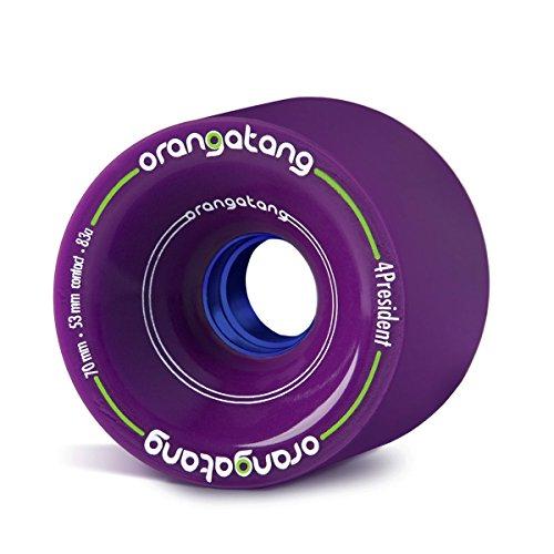 取るスローガン明確なOrangatang 4 President Purple Wheels 70mm by Orangatang