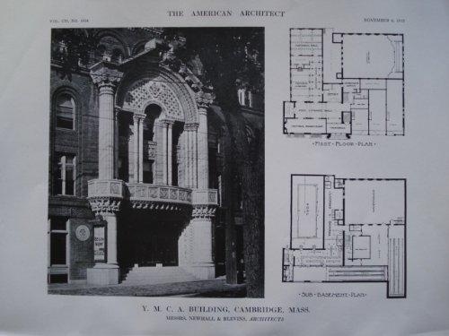 Y.M.C.A. Building , Cambridge, MA