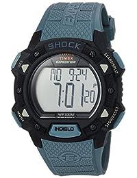 Timex de los hombres Expedición Choque digital correa de resina de gato, Azul/Negro