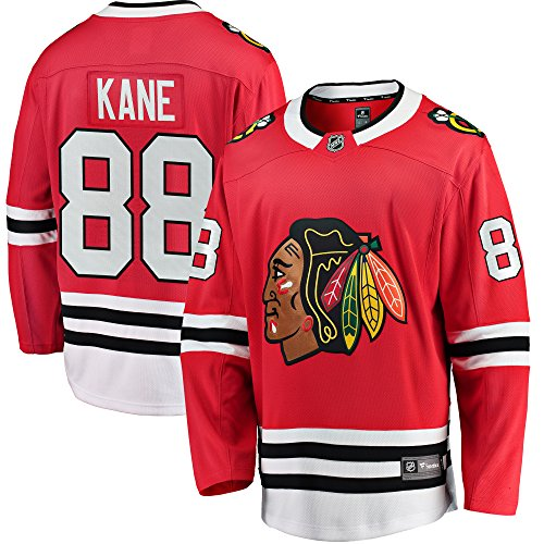 Patrick Kane Chicago Blackhawks Fanatics Branded Youth Home Breakaway Player Jersey (Red) - YSM from Football Fanatics