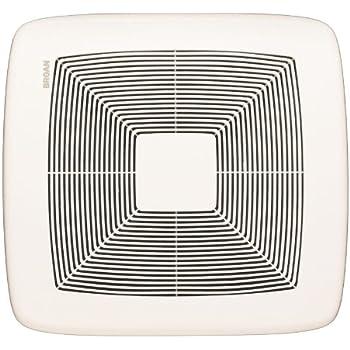Broan Qtxe080 Ultra Silent Bath Fan 80 Cfm White Grille