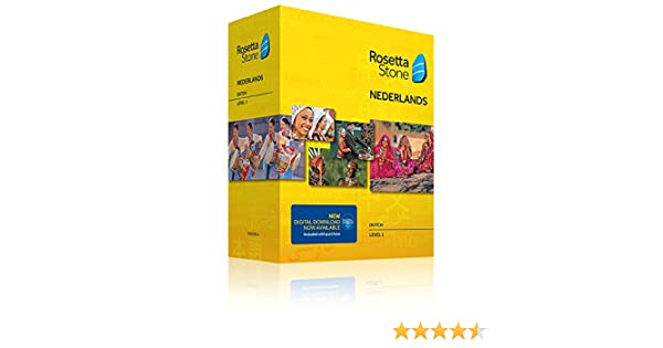 Amazon com: Learn Dutch: Rosetta Stone Dutch - Level 1