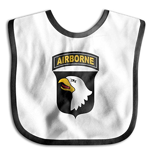 Army Bib - Army 101st Airborne Division Infant Bib Waterproof Bib For Drooling And Teething
