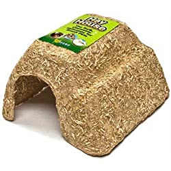 Ware Manufacturing Crunchy Cellulose Core Pet Hay House for Small Pets