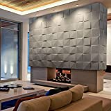 3D Decorative Panels Wall Forms 32.9 ft2