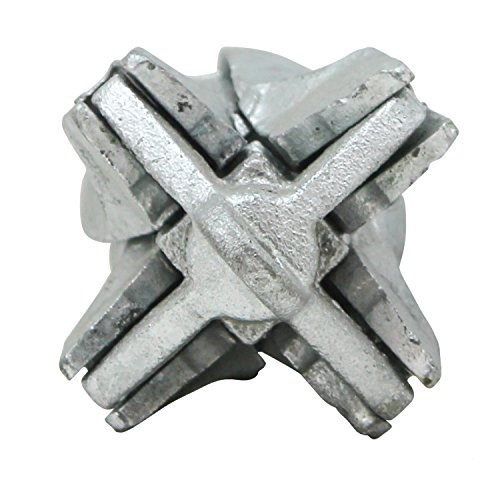 Extreme Max 3006.6545 BoatTector Folding/Grapnel Anchor - Galvanized, 3.5 lbs.