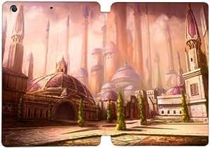 Cubierta de cuero y caja de la PC funda / soporte para funda de Apple iPad Mini 1,2,3 funda Con Magnetic reposo automático Función de despertador DIY por World Of Warcraft Wrath Of The Lich King S9I3Wq2S5Ww
